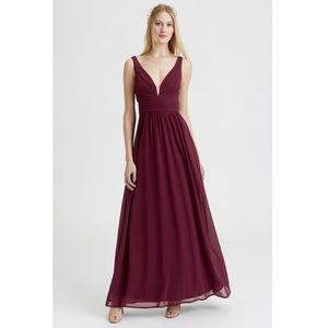 NWOT Lulu's BURGUNDY dress size XS